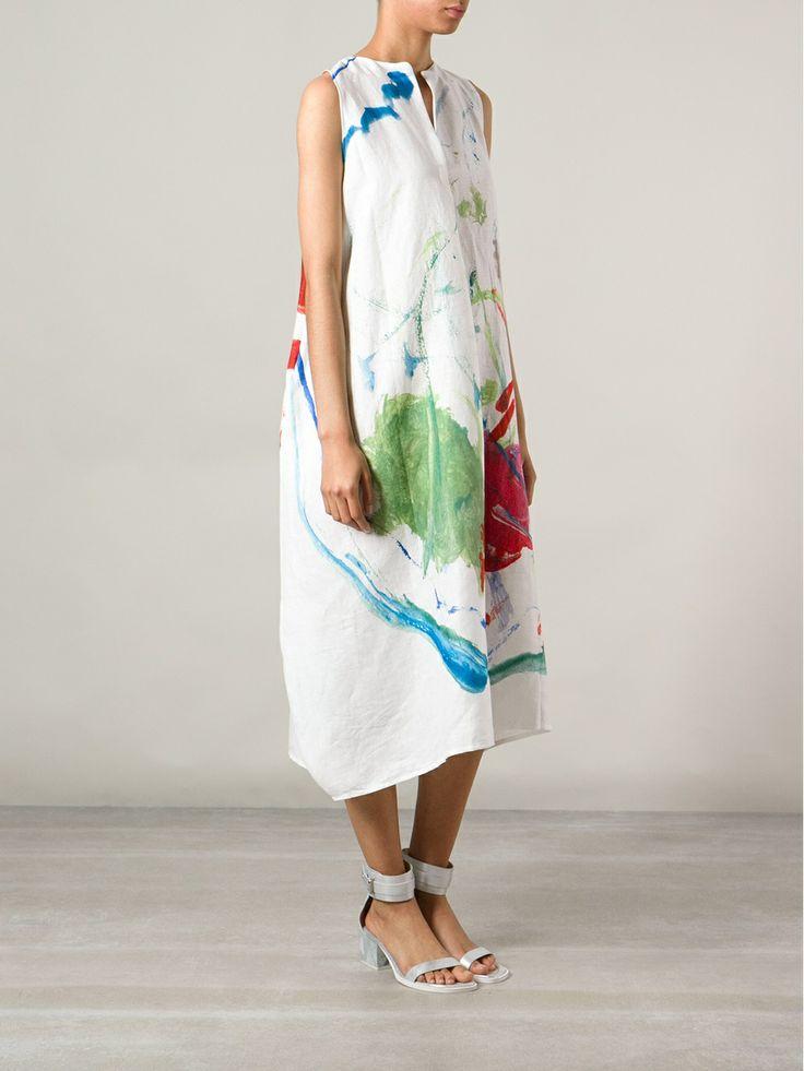 Daniela Gregis Paint Splatter Dress