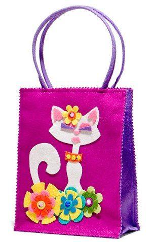kedili kolay çocuk çantası