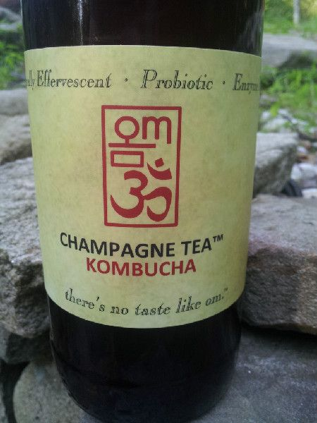 Incredibly delicious Kombucha tried today at farmer's market. Good alternative to bringing real alcohol to parties.