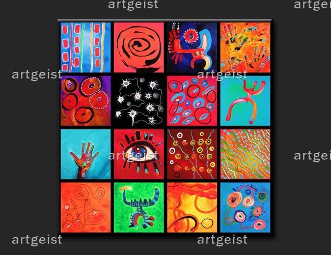 Galeria nowoczesnych obrazów na płótnie w sklepie internetowym www.artgeist.pl #obrazy #recznie #malowane #tryptyki #dekoracje #ścienne #sztuka #malarstwo #wnętrza #abstrakcje