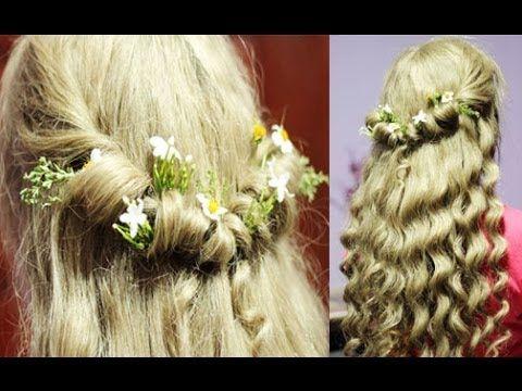 'Disney's Maleficent: Aurora Inspired Hairstyle'  Bellissimo!