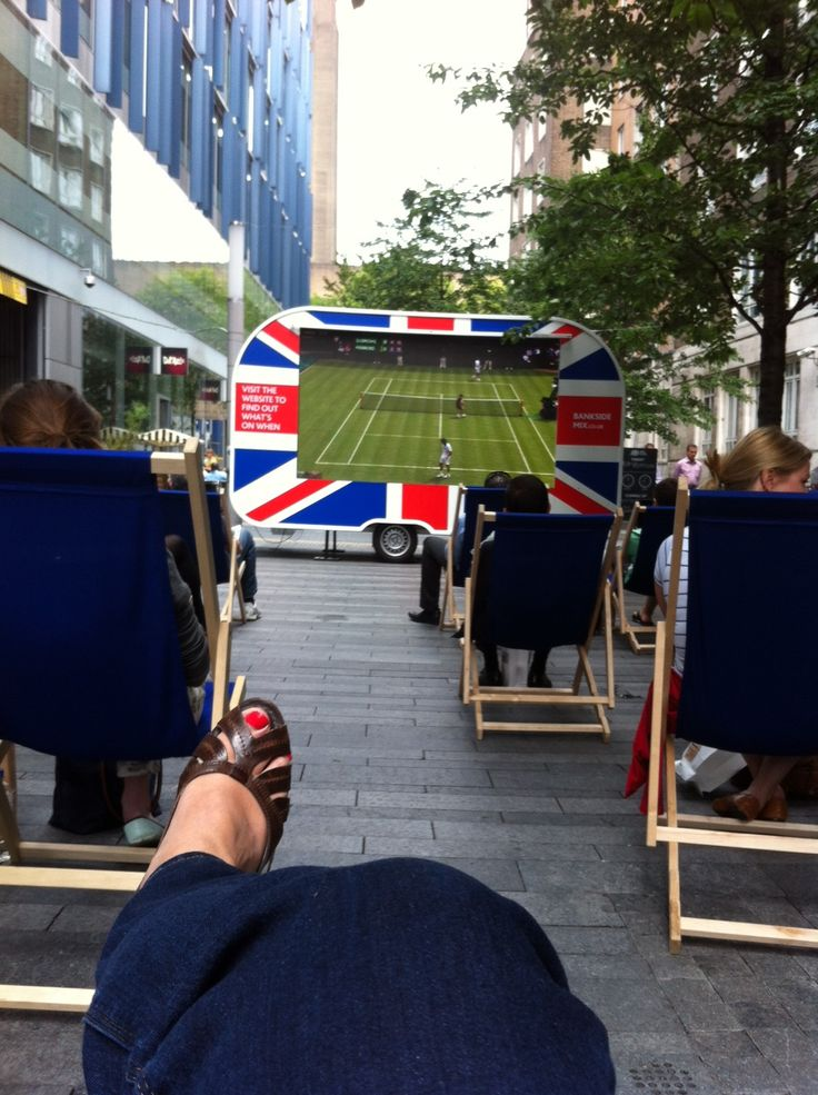 Wimbledon viewing #bankside