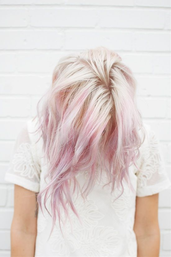 Pastel hair color are the trend now, they may seem odd but they're definitely beautiful.