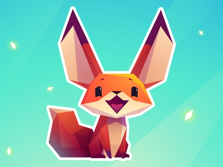 """Check out this @Behance project: """"Stickers. The Little Fox"""" https://www.behance.net/gallery/42929067/Stickers-The-Little-Fox"""