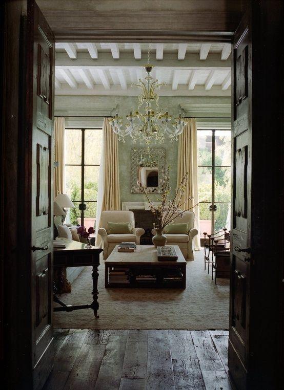 elegant rustic comfort