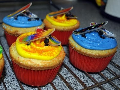 make skateboard cupcakes - Google Search