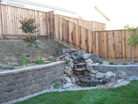 how to build a retaining wall in water