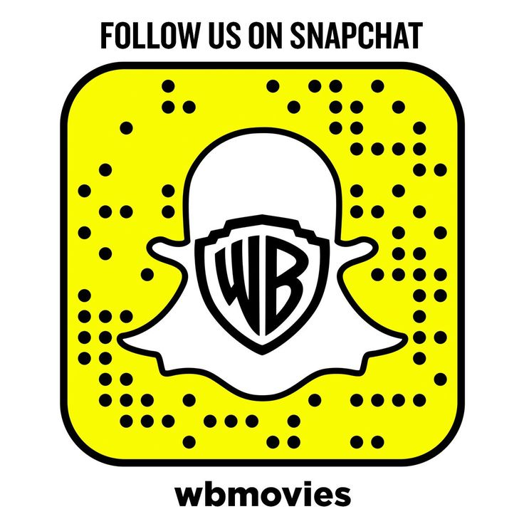 #Follow @warnerbrosent  @ #Snapchat! #User: #wbmovies. #AcademyAwards #Actresses #Actors #BlackReelAwards #Celebrities #ComingSoon #CriticsChoiceMovieAwards #EmpireAwards #Events #Fashion #Fims #HollywoodFilmAwards #InTheaters #Movies #MTVMovieAwards #NewYorkFilmCriticsCircle #NickelodeonKidsChoiceAwards #Oscars #PeoplesChoiceAwards  #ProducersGuildOfAmericaAwards #RedCarpet #Snapcode #WarnerBrosEntertainment #WB www.warnerbros.com
