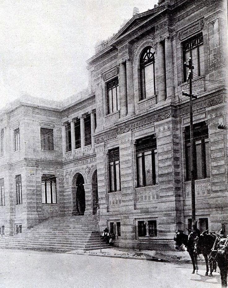 Sta. Ma. la Ribera, fachada del Instituto Geológico Nacional, 1910.