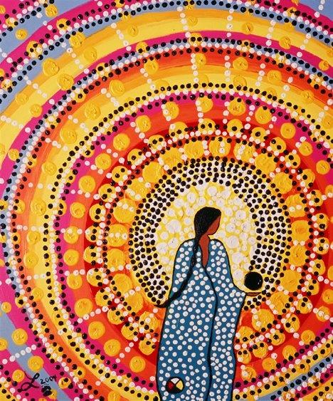 3 Una guía, una tlamatini, conoce la palabra escrita y el tejido de esas palabras, conoce los libros y el telar de la vida, llenos de colores y mensajes. Conoce el significado de la naturaleza y del tiempo.