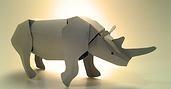 Duarte PaperArt #rhinoceros #paper $6.45
