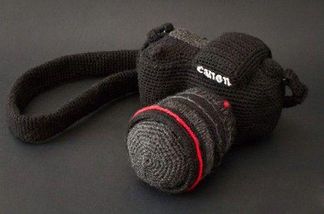 Canon Camera - crochet