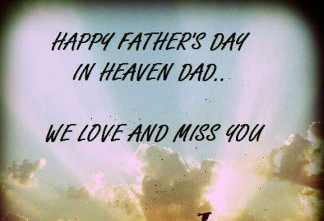 Free Happy Father's Day Miss You Images 2018 Download  #happyfathersday2018 #fat...