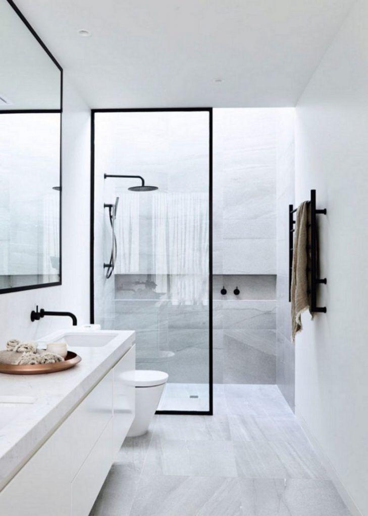 167 Top Modern Bathroom Shower Ideas For Small Bathroom Home Decor Badezimmer Schmales Badezimmer Badezimmerideen