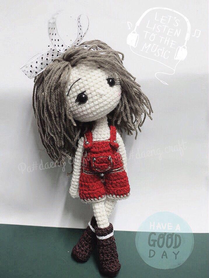 Amigurumidoll cute ♡