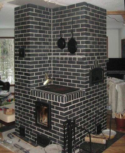 Masonry heater by Derek Lucchese