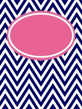 """Chevron Binder Covers (editable and free)-- on FD binder cover folder as """"Chevron Binder covers EDITABLE"""""""