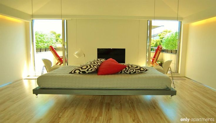 1000 Ideas About Suspended Bed On Pinterest Indoor