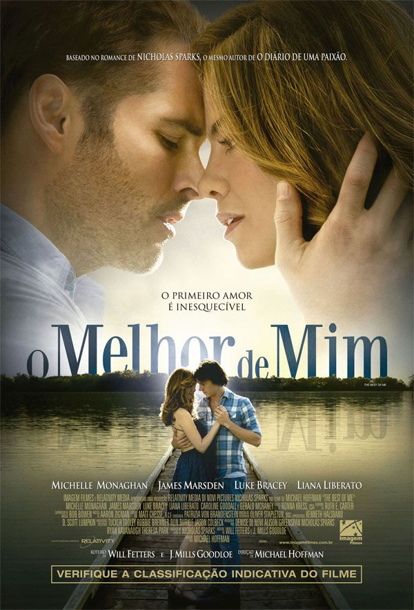 """Trailer e pôster nacional do romance """"O Melhor de Mim"""" http://cinemabh.com/trailers/trailer-e-poster-nacional-romance-o-melhor-de-mim"""