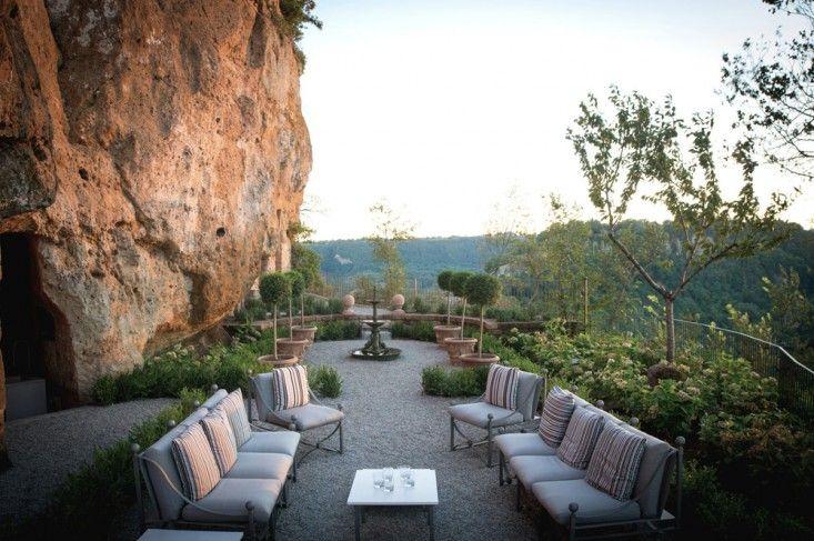 Specializing in the rustic, boutique agency Luci Di Casa offers five large villas across Tuscany as well as two villas in Mexico. Photograph of the Domus Civita property in Civita di Bagnoregio, Lazio, Italy.
