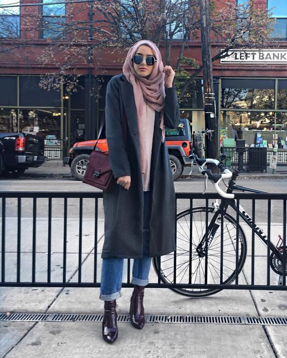 Outfit Ideas To Wear Winter Hijab Style From Pinterest to Copy
