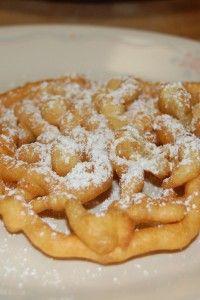 Classic Funnel Cakes Dessert Recipe | Yummy Recipes
