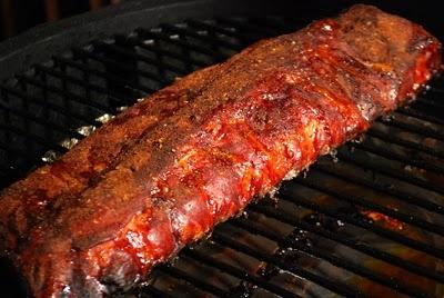 Memphis-Style Pork Ribs Recipe — Dishmaps