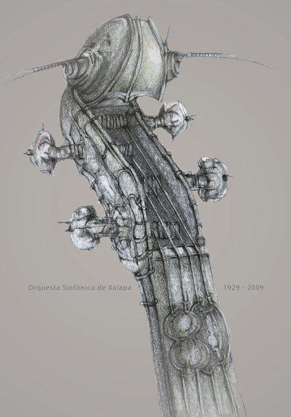Antonio Romero Cárcamo. -80 años Orquesta Sinfónica Xalapa-  #dibujo #drawing #boceto #buenaonda #cool #lápiz #pencil #sketch