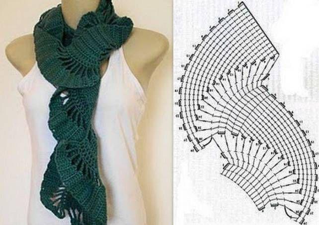 crochet pattern / scarf