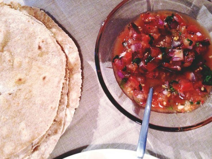 Taco på Menyen: Hjemmelagde Tortillas, Hjemmelaget Tacokryder & Verdens Beste Salsa