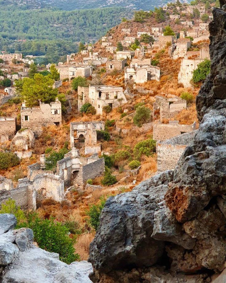 Good Morning From #Kayakoy Ghost Town #Fethiye #Mugla