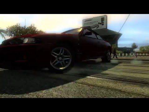 Nisan GTR Skyline Drifting Gameplay|Red Nissan Skyline Awesome Drifting ...