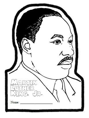 33 best martin luther king images on pinterest king jr for Martin luther king jr coloring pages