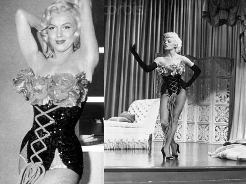 marilyn monroe and sheree north in the same outfit