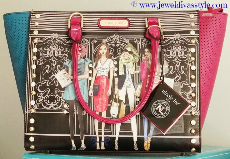 JDS - Added to my handbag collection again this year. My New Nicole Lee handbag