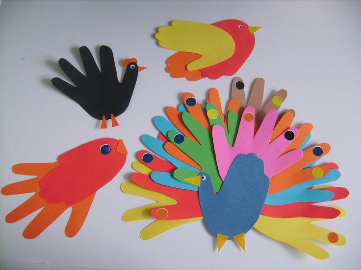 Les 25 meilleures id es concernant cr ation avec empreinte de pied sur pinterest artisanat - Peinture main enfant ...