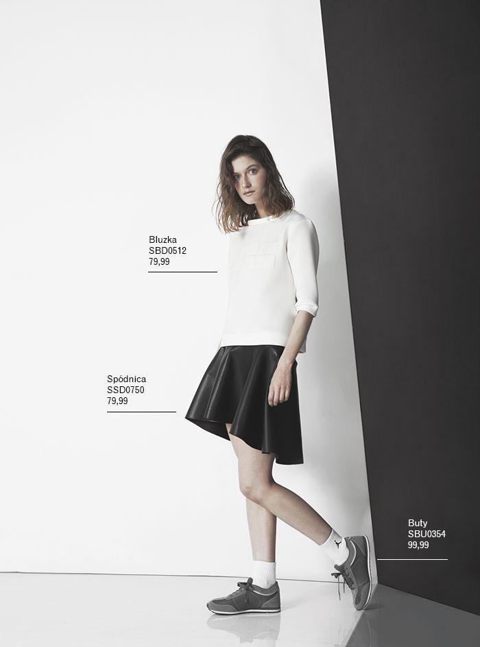 Rozkloszowane spódnica #skirt