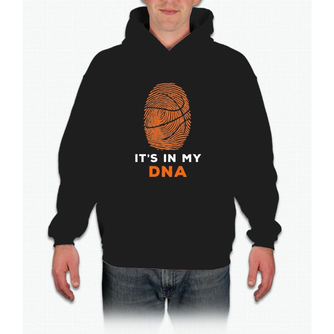 It Is In My DNA Fingerprint Basketball Funny Shirt Gift Hoodie  – Products