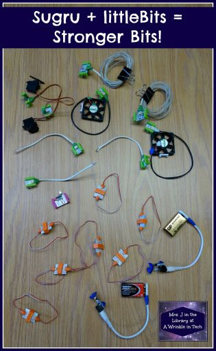 Use Sugru to make littleBits stronger and last longer | Mrs. J in the Library @ A Wrinkle in Tech