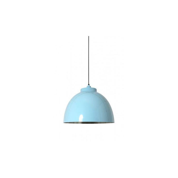Modna lampa wisząca nad stół kuchenny w kolorze turkusowo-miętowym. Produkt…