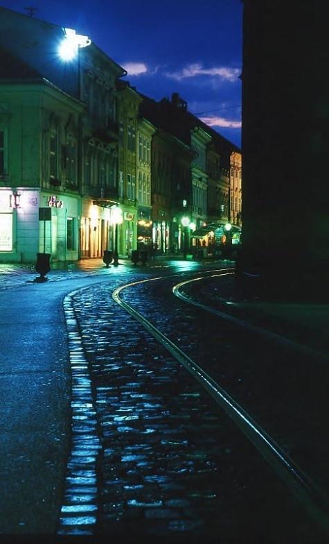 Kosice at night / Slovakia