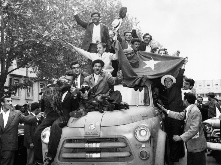 A Short History of Modern Turkey's Military Coups.  Turkish Coup 1960