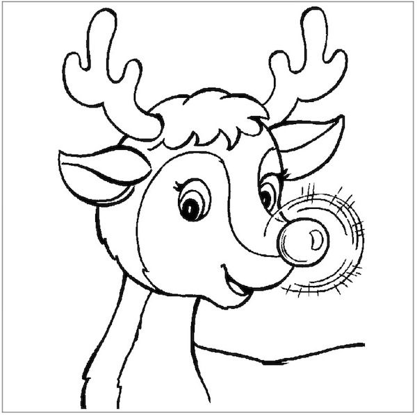 christmas coloring pages - Free Printable Coloring Sheets For Christmas