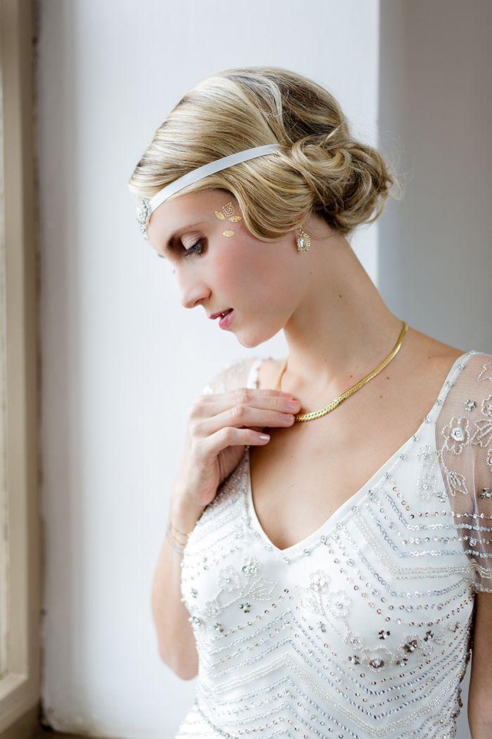 #Brautaccessoires für eine 1920 er Jahre #Hochzeit - Great Gatsby Wedding!