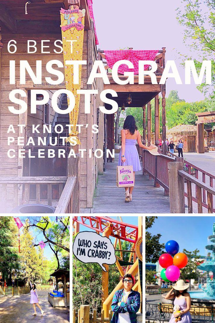 The Knott's PEANUTS Celebration is so Instagram friendly