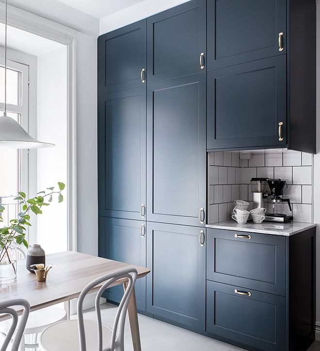 17 Best Ideas About Navy Kitchen Cabinets On Pinterest Navy Cabinets Navy Kitchen And Colored