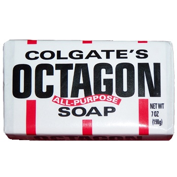 Colgate's Octagon Soap - it's being discontinued!  What do you use it for?Octagon Soaps, Rubs Boards, Bar Soaps, Colgate Octagon
