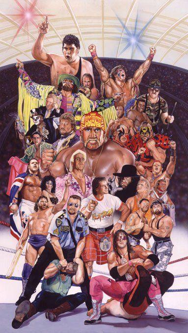 WWF Old School by Tom Fleming