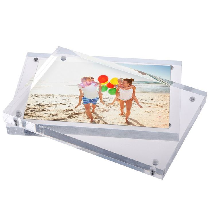 Amazon.com: TWING Premium Acrylic Photo Frame Magnet Photo Frame 5x7 inch (5 pack): Home & Kitchen