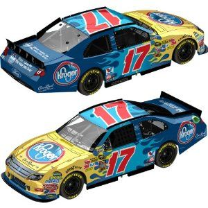 Action Nascar Racing Collectible 2011 Matt Kenseth #17 Kroger 1/64 Kids Hardtop Ford Fusion Lnc by Action. $7.99. DRIVER SPECIFIC PAINT SCHEME. MANUFACTURER SPECIFIC DETAIL. MATCHBOX SIZE. HOOD AND TRUNK DO NOT OPEN. BARBELL TYPE WHEELS. Action Gold Series Diecast 1/64 2011 Matt Kenseth #17 Kroger / Ford Fusion NASCAR diecast, by Action. The Roush Fenway Racing #17 Kroger Ford was driven by Matt Kenseth in the NASCAR Sprint Cup, Pure Michigan 400 at Michigan International Spee...